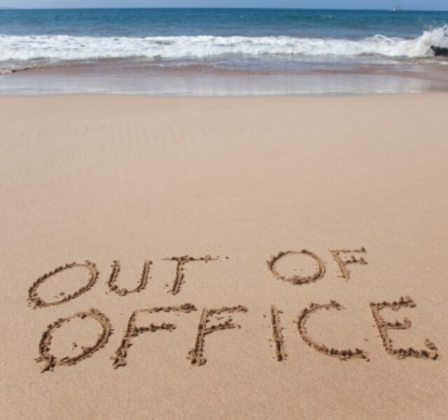 Vakantie….1 tot en met 12 september